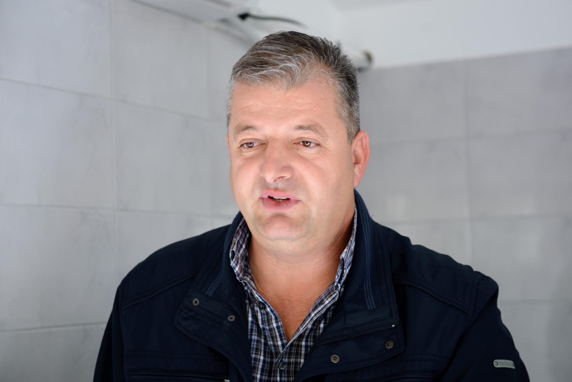Mato Oberan, predsjednik Ceha ribara pri HOK-u