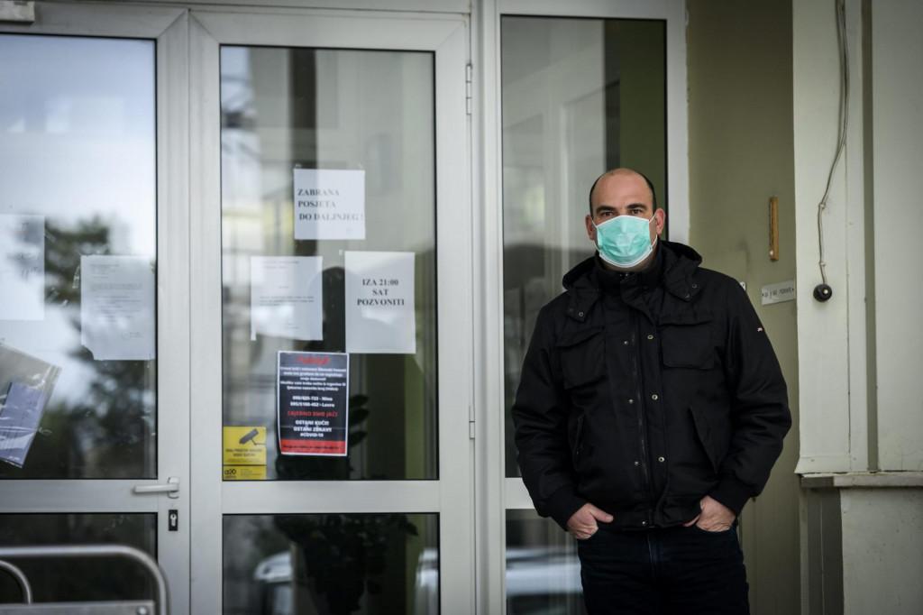 Ravnatelj Cvjetnog doma Tomislav Ninić<br />