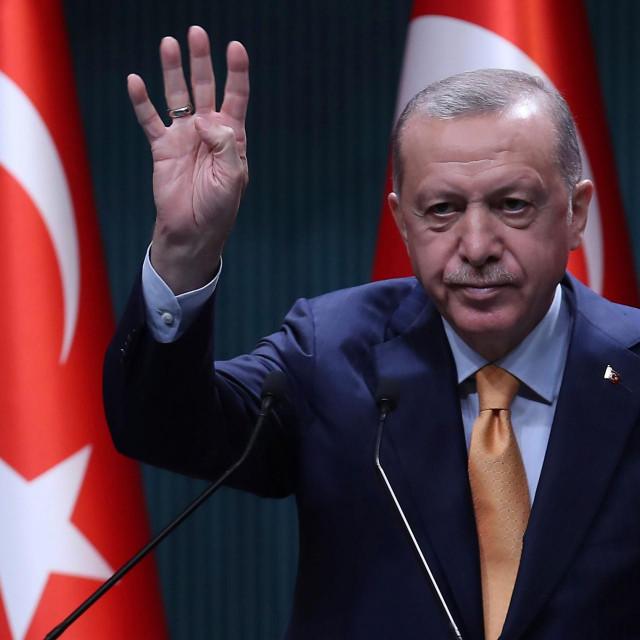 Turski predsjednik Erdogan