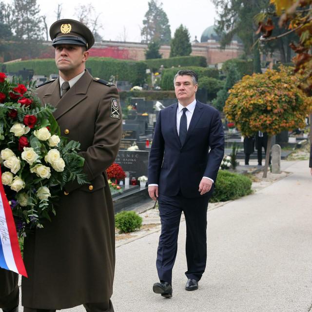 Predsjednik Republike nekidan na Mirogoju