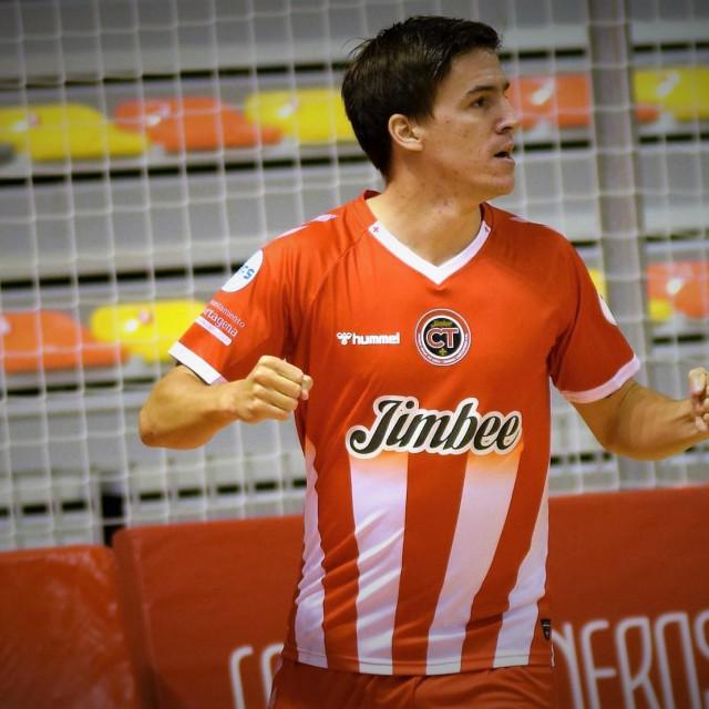 Dario Marinović slavi pogodak protiv Cordobe foto: Jimbee Cartagena FS