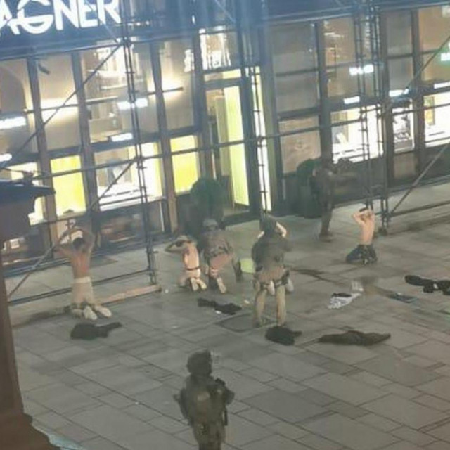 Navodna predaja terorista u Beču
