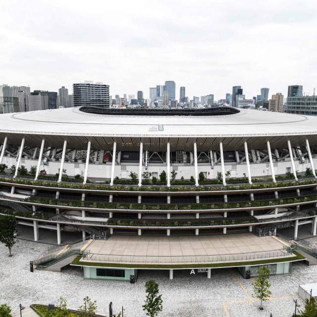 Nacionalni stadion - izgrađen za Olimpijske igre koje su se trebale održati ovoga ljeta
