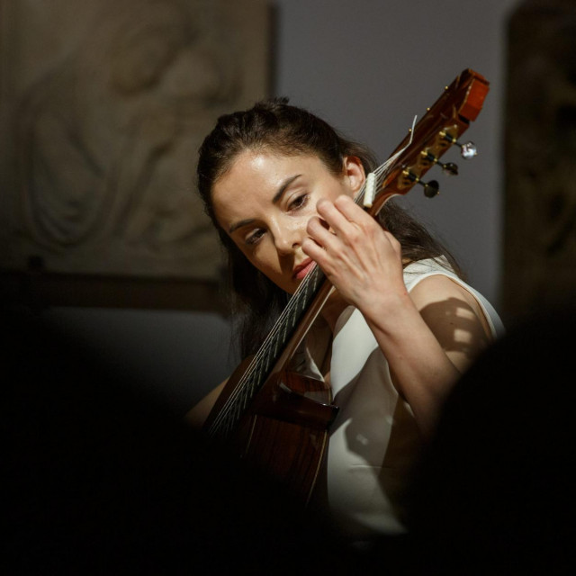 Ana Vidović odabrala je opsežan i kompleksan program koji traži mnogo koncentracije, samopouzdanja i kondicije