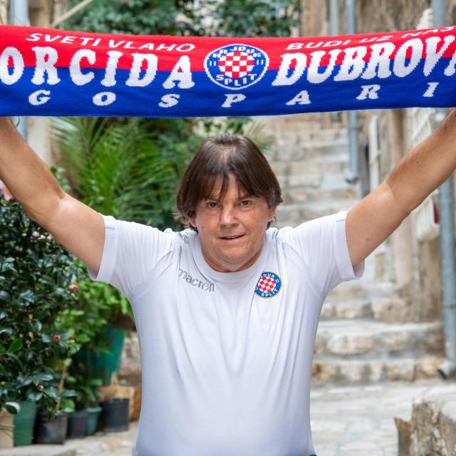 Frano Jerković, dubrovački navijač Hajduka i Torcidaš
