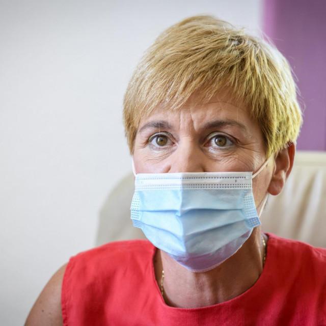 Ravnateljica Opće bolnice Šibenik Sanja Jakelić<br />