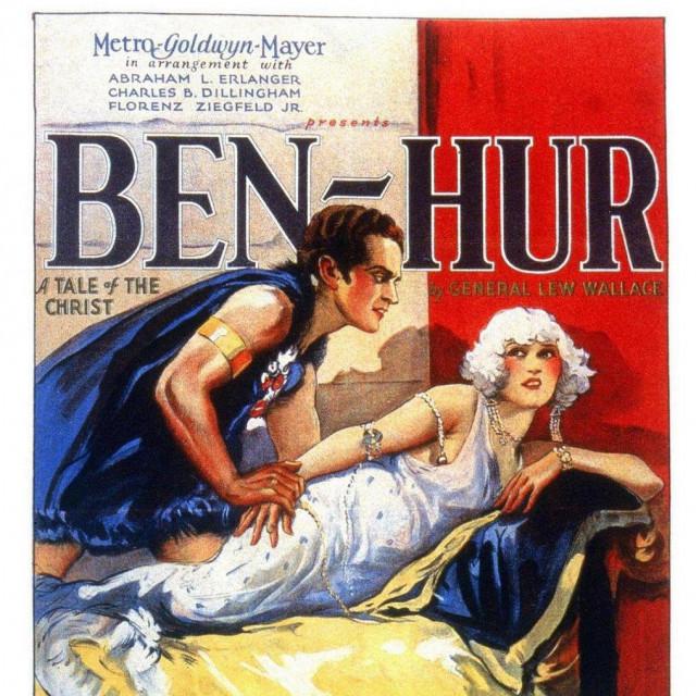 'Ben Hur' iz 1925. godine bit će prikazan večeras na svečanoj projekciji
