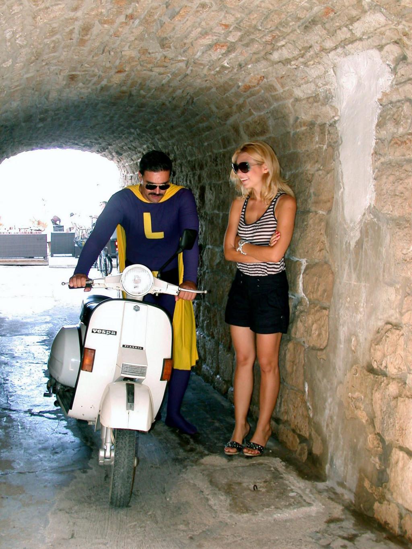 Lavanderu nije preostalo drugo nego na vespu pa put Rijeke