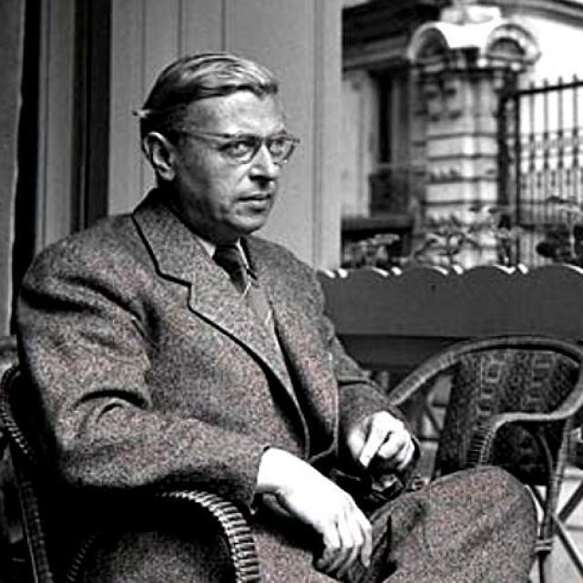 Jean-Paula Sartrea na Glavnome kolodvoru dočekao je cvijet hrvatske književnosti i filozofije, predvođen Miroslavom Krležom