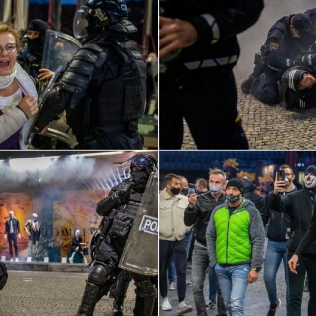 Neredi i sukobi u Ljubljani