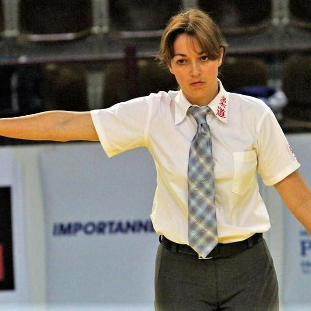 Klara Mitrović, međunarodni judo sudac foto: Tonči Vlašić