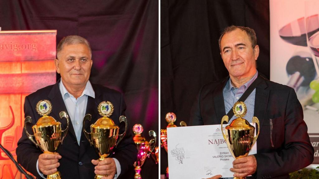 Stjepan Vučemilović (lijevo) i Valerio Skoblar