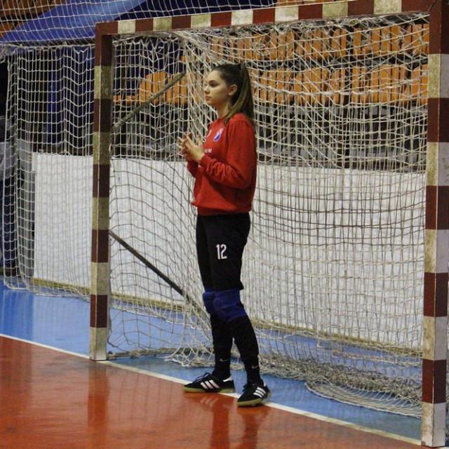 Mlada vratarka Karla Jerković oduševila je u svom prvom nastupu