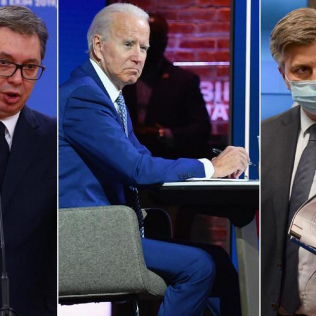 Milorad Dodik, Aleksandar Vučić, Joe Biden, Andrej Plenković, Dragan Čović