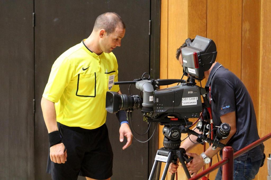 Televizijske kamere u Gospinom polju na utakmici Squarea foto: Tonči Vlašić