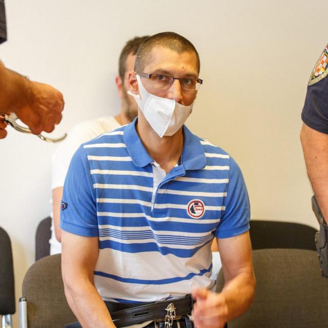 Branimir Čaleta na optuženičkoj klupi splitskog suda