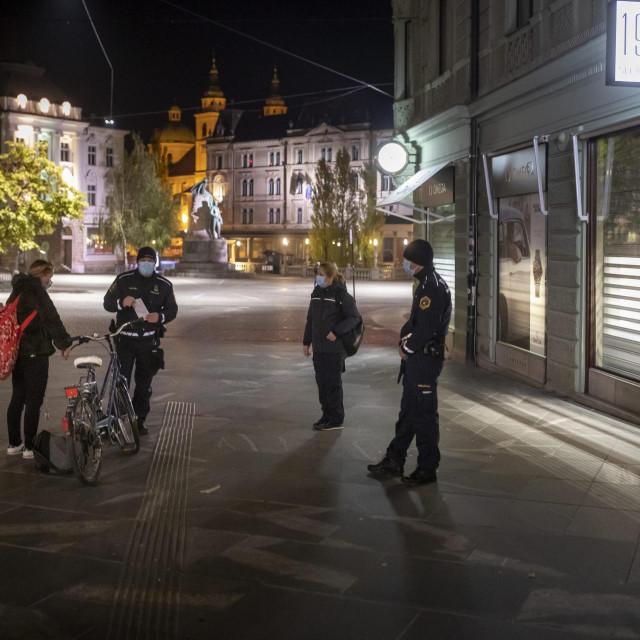 Puste ulice Ljubljane