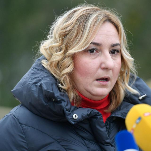 Sanja Šprem, predsjednica Sindikata hrvatskih učitelja
