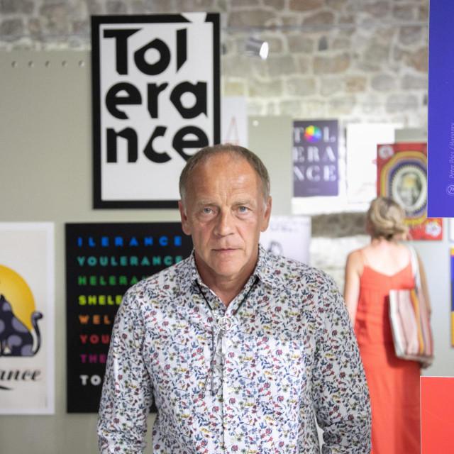 Poznati dizajner Mirko Ilić autor je koncepta projekta 'Tolerancija'<br />