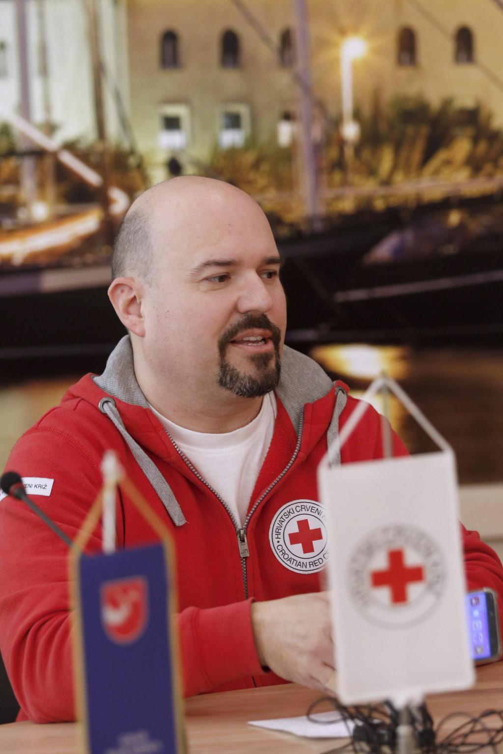 Gloryan Grabner, ravnatelj Crvenog križa Makarska