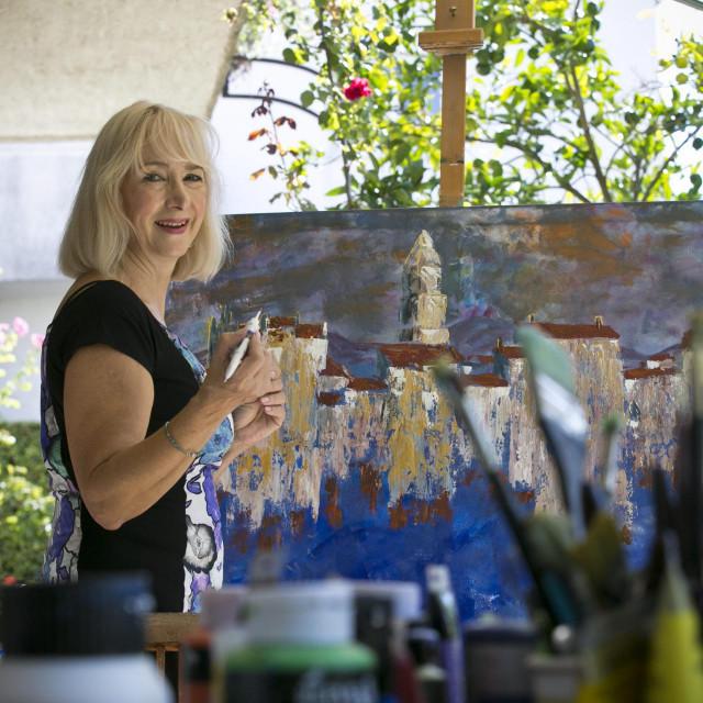 Lili Gluić do sada je ostvarila više od 70 izložbi u zemlji i svijetu<br />