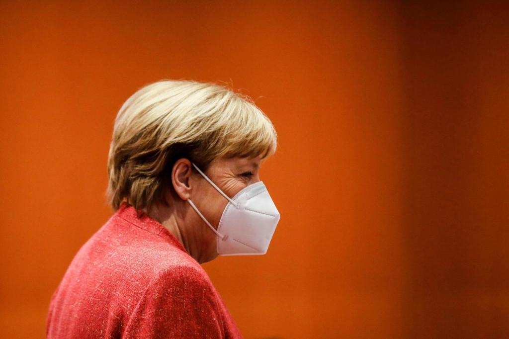 Zabrinuta Angela Merkel