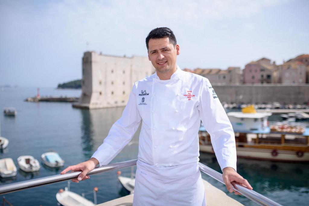 chef Marijo Curić, restoran 360