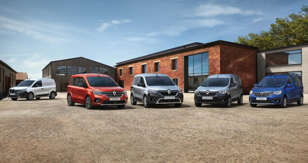 Izvedbe novog Kangooa i Renault Expressa