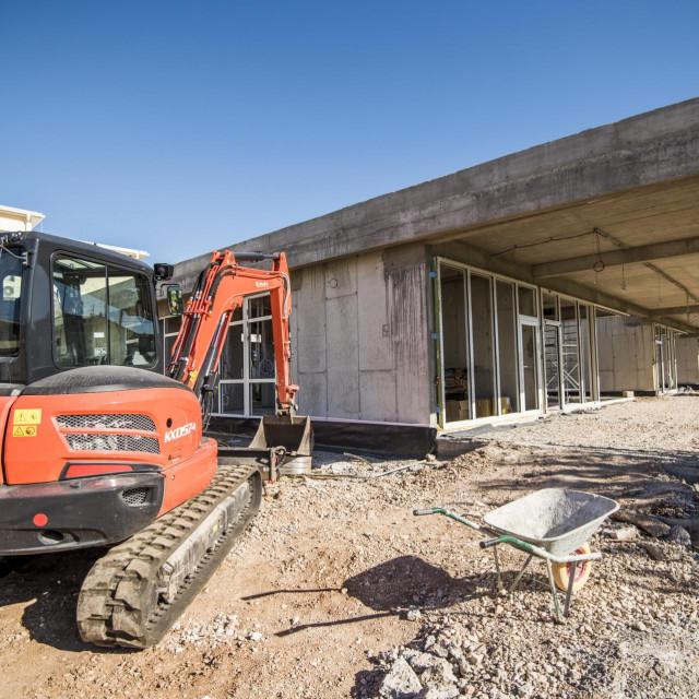 Novi dječji vrtić u Tribunju u izgradnji; radovi bi trebali biti gotovi u veljači iduće godine, kao što je i planirano