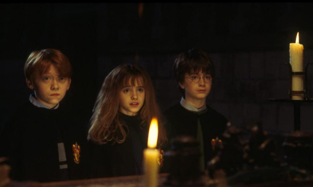 Ron, Hermione i Harry