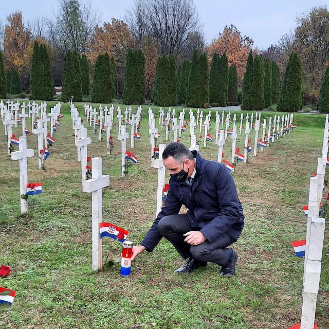 Šime Mršić odao počast žrtvama Vukovara