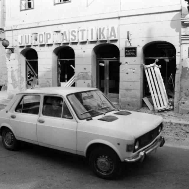 Zadnji snimci iz Vukovara napravljeni krajem rujna 1991.