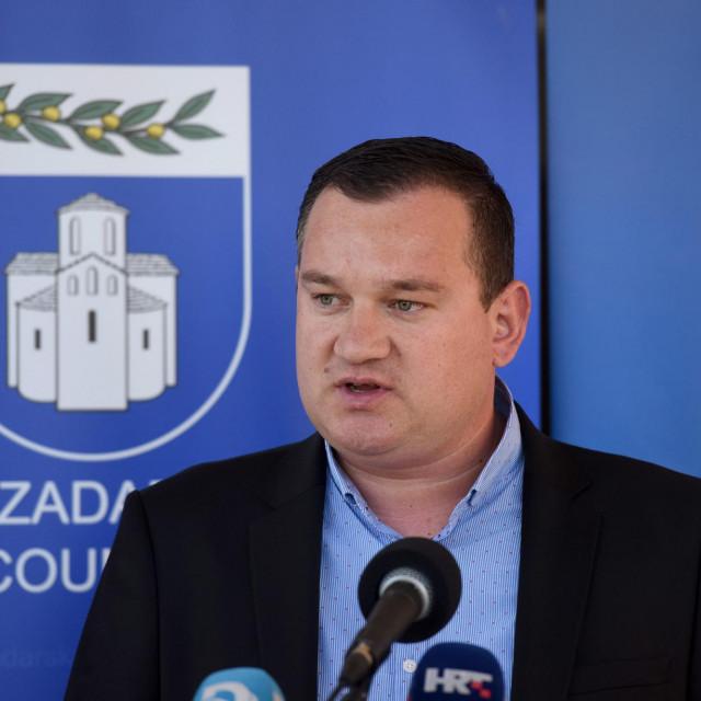 Na fotografiji: Šime Vicković, načelnik Stožera civilne zastite Zadarske županije