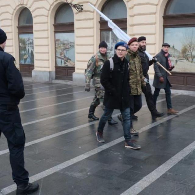 Malo ljudi je na ulicama Vukovara