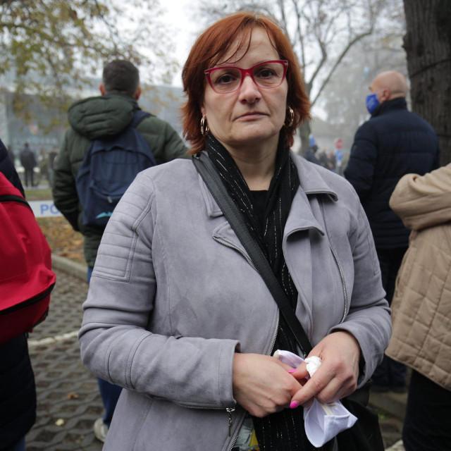 Katica Pavletić, kćerka Damjana Samardžića, Velikog Bojlera, jednog od zapovjednika obrane Sajmišta