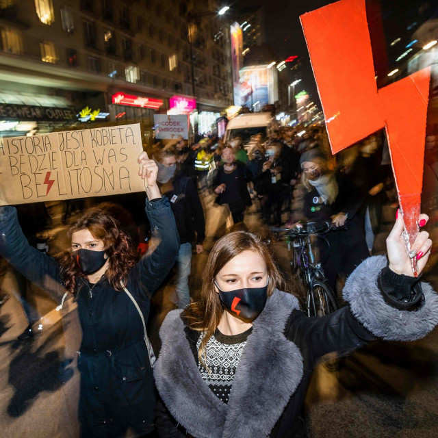 Prosvjed u Varšavi