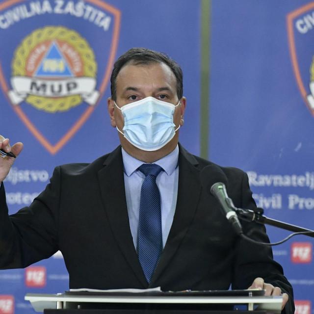 Ministar zdravstva Vili Beroš<br />