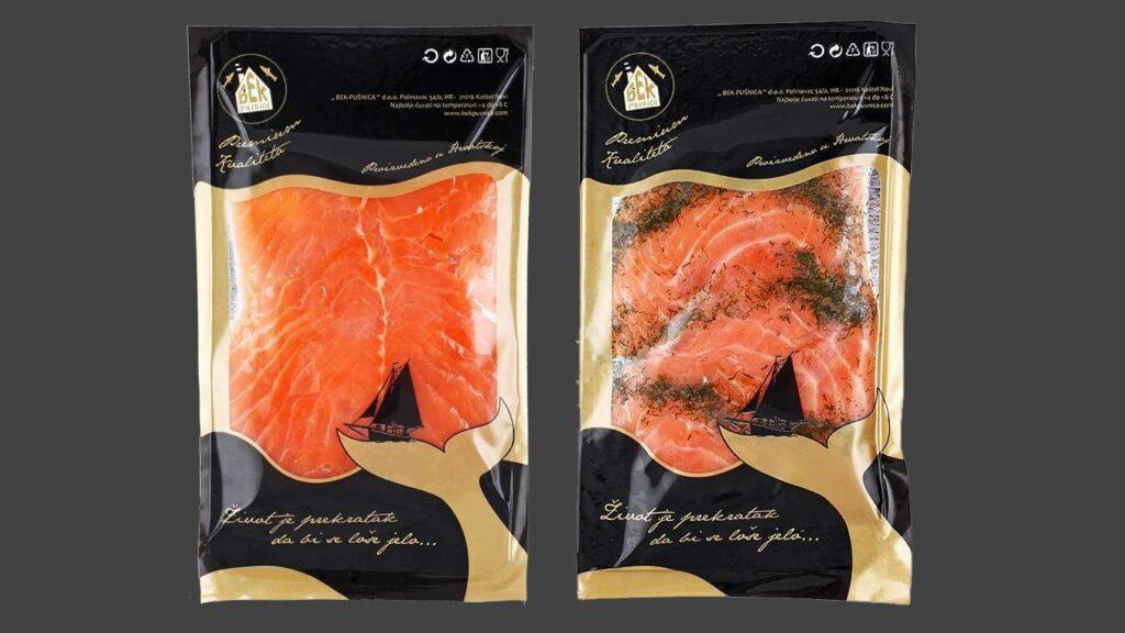Pakiranje proizvoda Premium losos