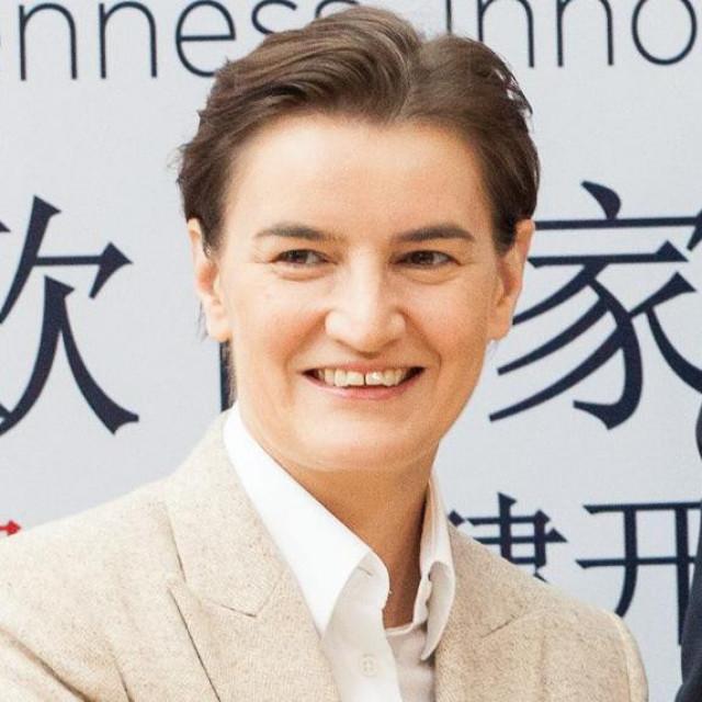 Ana Brnabić, predsjednica Vlade Srbije u svom drugom mandatu