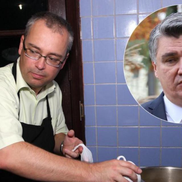 Neven Pelicarić i Zoran Milanović
