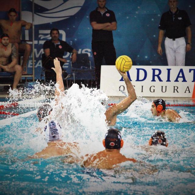 Prva hrvatska liga, 4. kolo: Jug AO - Solaris foto: Tonči Vlašić