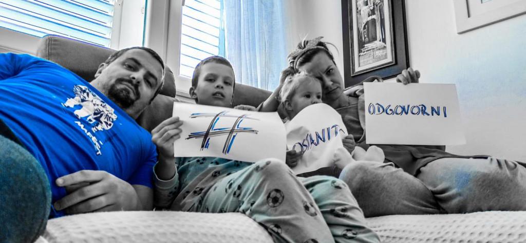 Obitelj Nemčić: Naša poruka je jasna, Ostanite odgovorni, zaštitite sebe i druge!