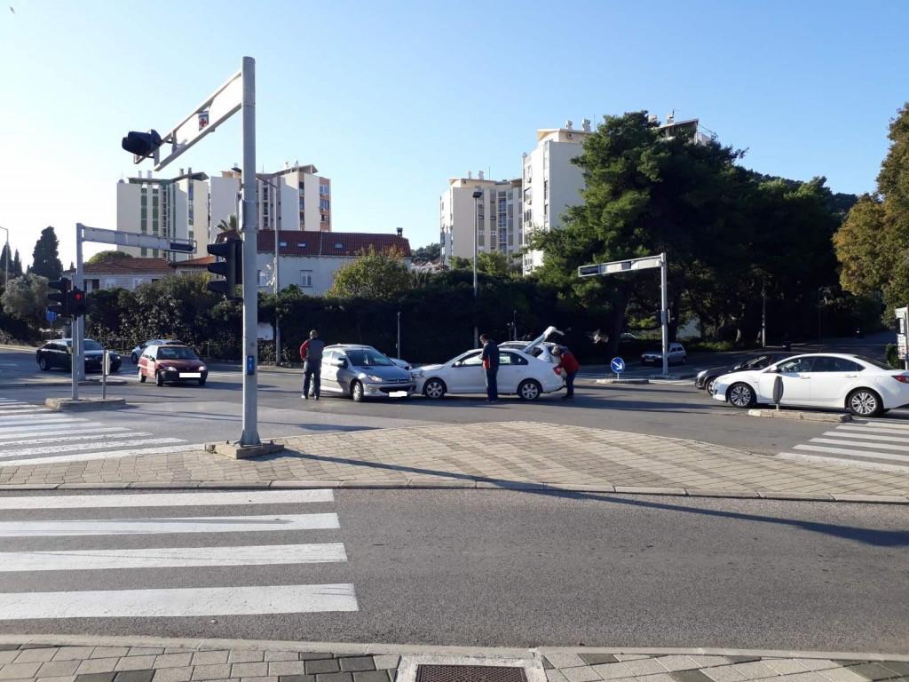 prometna nesreća na semaforima u Lapadu
