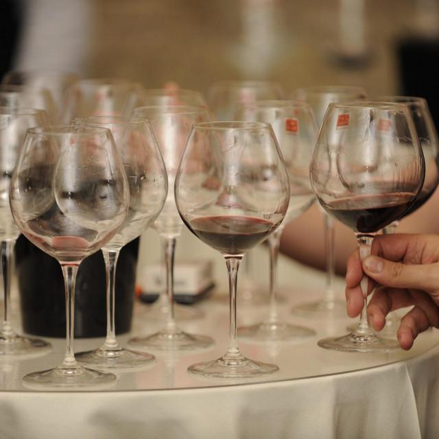 Split, 240514.<br /> U Dioklecijanovim podrumima se odrzava Vinski podrum - 2. Sajam vina i delicija pod pokroviteljstvom lista Slobodna Dalmacija.<br />