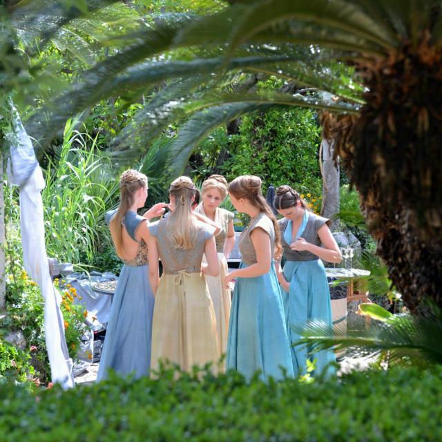 Snimanje serijala Igre prijestolja u Arboretumu u Trstenu nedaleko od Dubrovnika