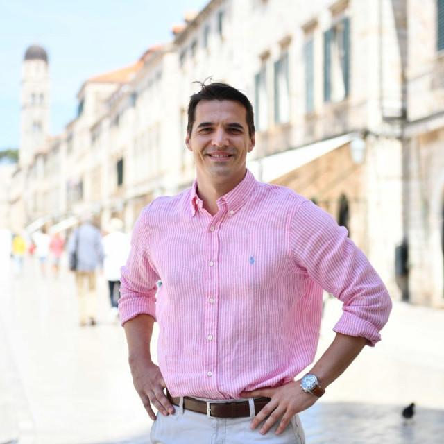 Jadran Barač, kandidat za gradonačelnika Dubrovnika