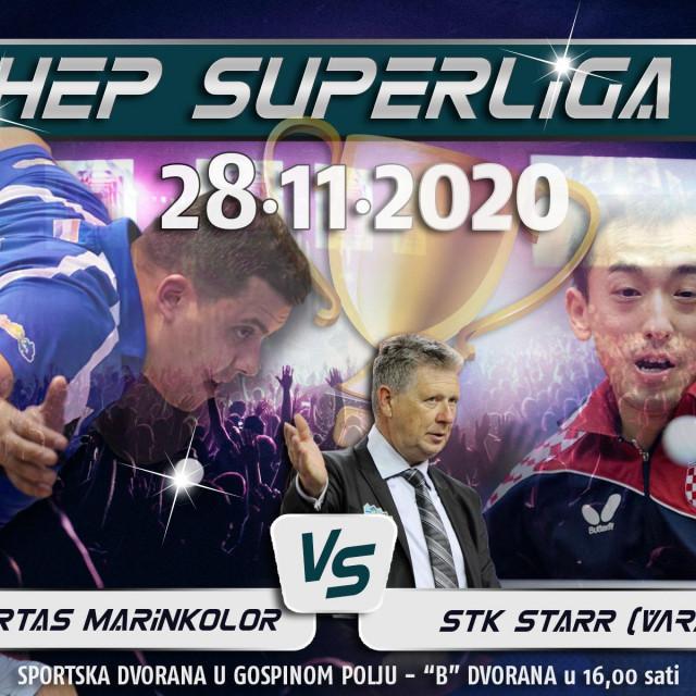 Dubrovački klub najavljuje super derbi HEP Hrvatske Super lige: Libertas Marinkolor - StaRR, doprvak kontra prvaka - subota, 28. studenog, u Gospinom polju