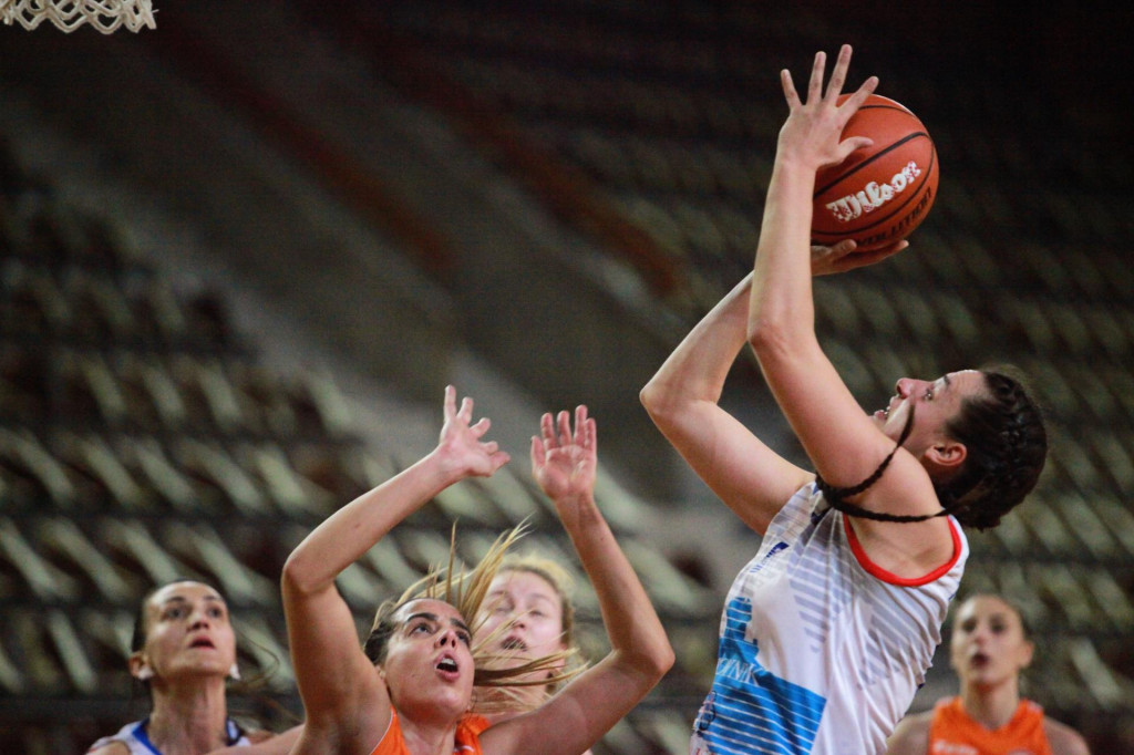 Prva hrvatska liga košarkašica, Dubrovnik: Ragusa - Šibenik 87:64 foto: Tonči Vlašić