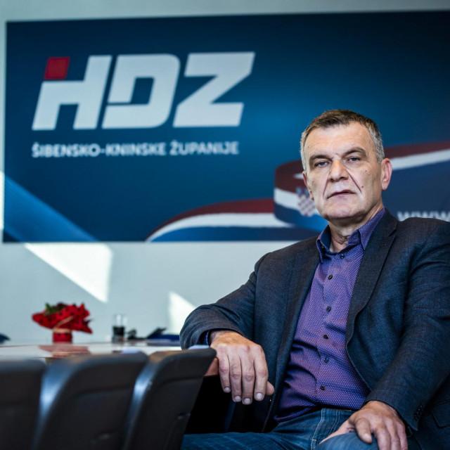 Nediljko Dujić, ponovo izabrana za predsjednika županijskog HDZ-a<br />