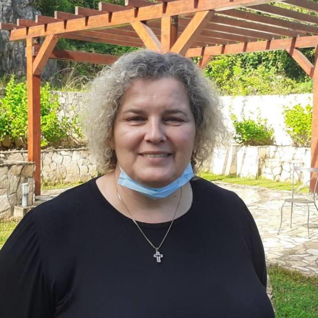 Luce Pušić, ravnateljica konavoskog Doma za starije i nemoćne na Grudi